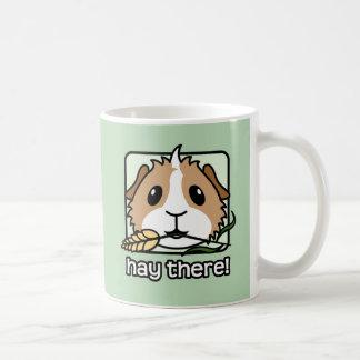 Taza De Café ¡Heno allí! (Conejillo de Indias)