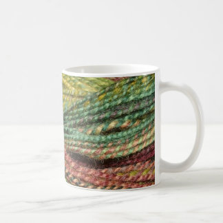 Taza De Café hilado verde del handspun