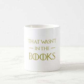 Taza De Café Hilarante que no estaba en los libros conseguidos
