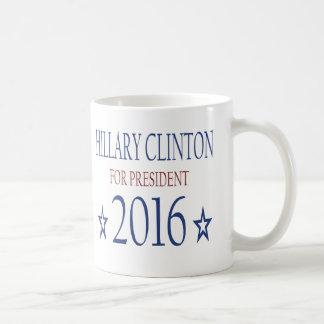 Taza De Café Hillary Clinton para el presidente 2016