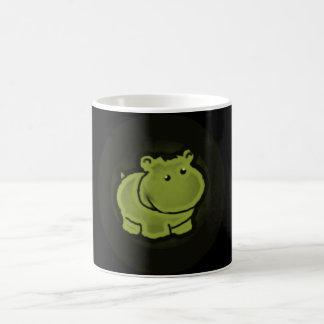 Taza De Café Hipopótamo lindo