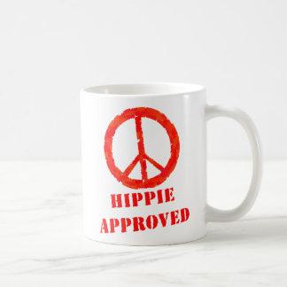 Taza De Café Hippie aprobado