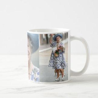 Taza De Café HM reina Elizabeth, la reina madre 1988