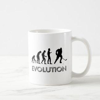 Taza De Café Hockey de la evolución
