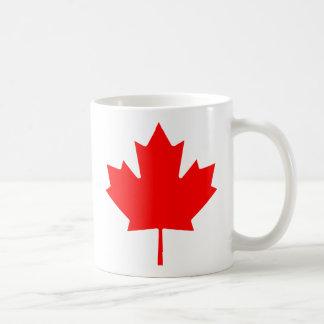 Taza De Café Hoja de arce canadiense