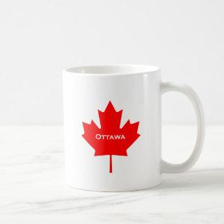 Taza De Café Hoja de arce de Ottawa
