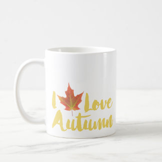 Taza De Café Hojeo otoño