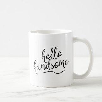 Taza De Café Hola hermoso