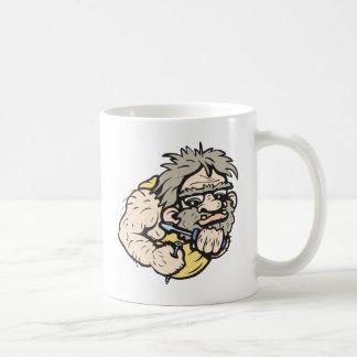 Taza De Café ¡Hombre de las cavernas!  ¡Personalizable!