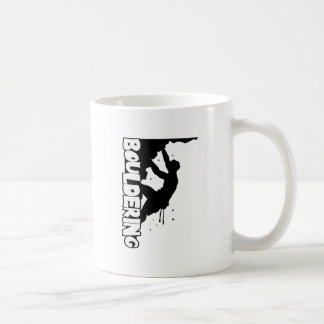 Taza De Café Hombres de la impresión de Bouldering