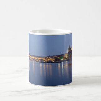 Taza De Café Hora azul en Praga