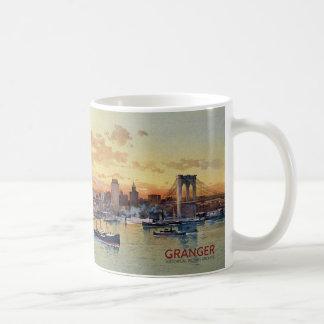 TAZA DE CAFÉ HORIZONTE 1896 DE NUEVA YORK