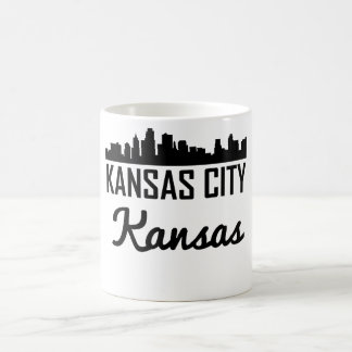 Taza De Café Horizonte de Kansas City Kansas