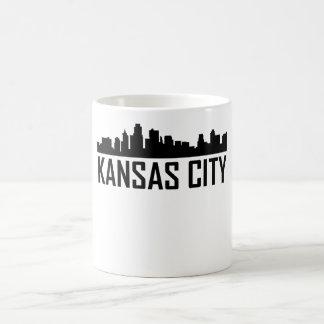 Taza De Café Horizonte de Kansas City Kansas City