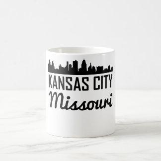 Taza De Café Horizonte de Kansas City Missouri