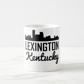 Taza De Café Horizonte de Lexington Kentucky