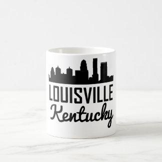 Taza De Café Horizonte de Louisville Kentucky
