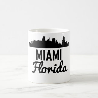 Taza De Café Horizonte de Miami la Florida