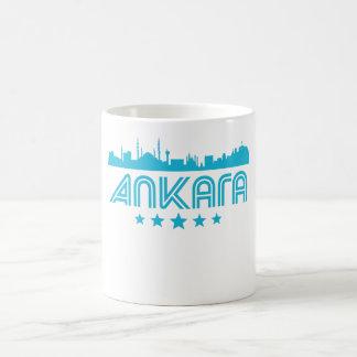 Taza De Café Horizonte retro de Ankara