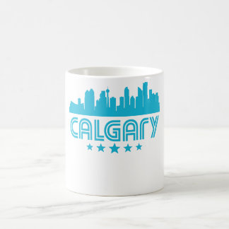 Taza De Café Horizonte retro de Calgary
