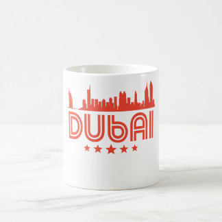 Taza De Café Horizonte retro de Dubai