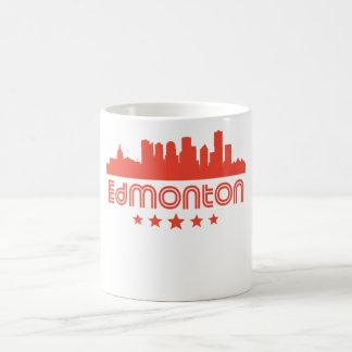 Taza De Café Horizonte retro de Edmonton