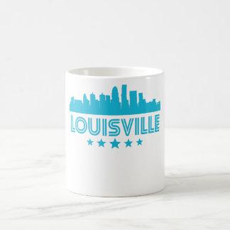Taza De Café Horizonte retro de Louisville
