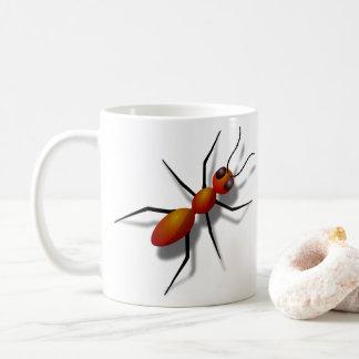 Taza De Café Hormiga roja grande