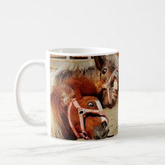 Taza De Café Horses