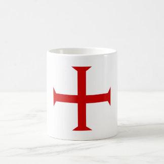 Taza De Café hospitall teutónico templar de Malta de la Cruz