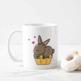 Taza De Café Huevos de Pascua - poco conejito