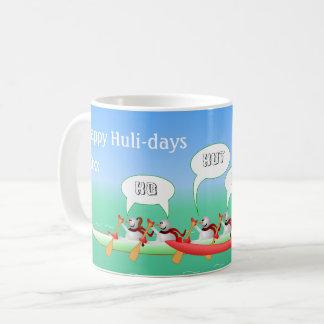 Taza De Café Huli-días felices