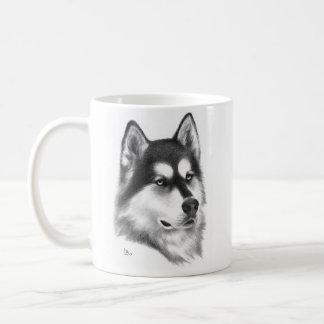 Taza De Café Husky siberiano