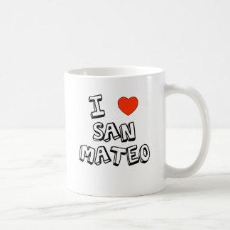 Taza De Café I corazón San Mateo