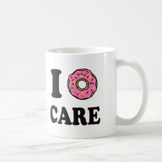 Taza De Café I cuidado del buñuelo divertido