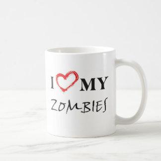 Taza De Café I love my zombies