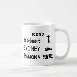 Taza De Café Icono-Río-Sidney