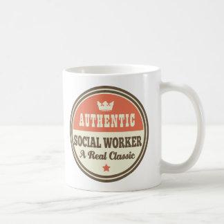 Taza De Café Idea auténtica del regalo del vintage del