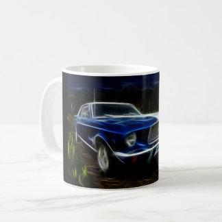 Taza De Café Iluminación del coche