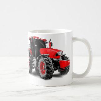 Taza De Café Imagen del tractor para la Clásico-Blanco-Taza
