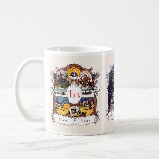Taza De Café Imágenes del alfabeto ruso, sistema II (no. 6 de