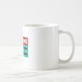 Taza De Café Imagínese la sola atención sanitaria del pagador
