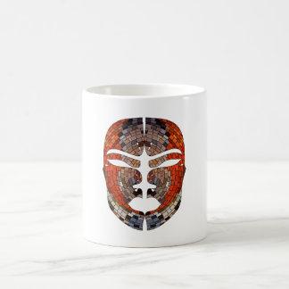 Taza De Café Imitación del extracto de la máscara africana
