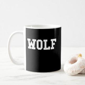 Taza De Café Impresión agradable del lobo