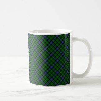 Taza De Café Impresión diseñada escocés del tartán del clan de