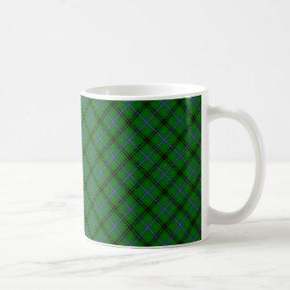 Taza De Café Impresión diseñada tartán del clan de Henderson