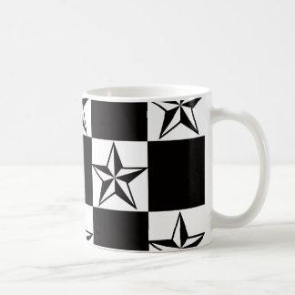 Taza De Café Impresión oscura de hombres de las estrellas