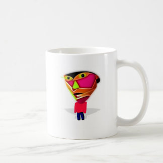 Taza De Café Individuo del dibujo animado