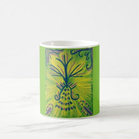 """Taza de café """"industrial"""" de la impresión del arte"""