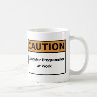 Taza De Café Informático en el trabajo